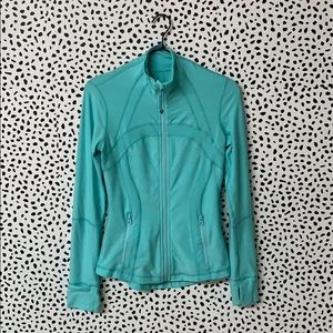 Lululemon Athletica Turquoise Zip Up Jacket
